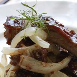 Pork Ribs With Home Made Sauce