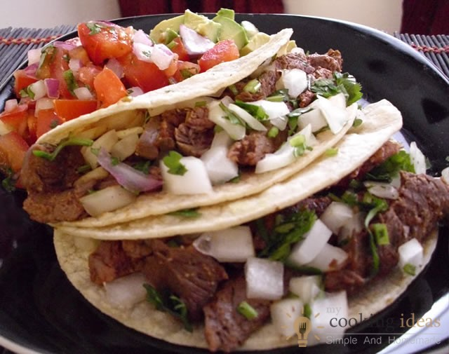 How To Make Chili-Rubbed Steak Tacos | My Cooking Ideas