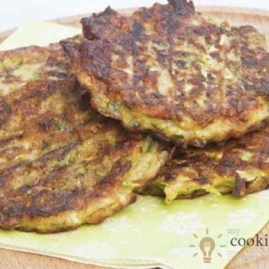 Zucchini Patties-Tasty and Healthy Breakfast