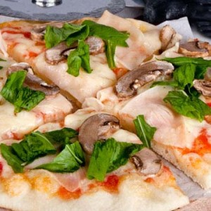 The Queen of Pizzas !  Bake delicious Capricciosa