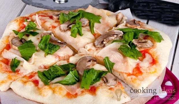 The Queen of Pizzas !  Bake delicious Capricciosa