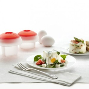 Outstanding! Boiled Eggs In Cube And Cylinder Shape