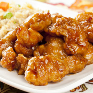 The Unusual Asian Cuisine - Chicken With Orange