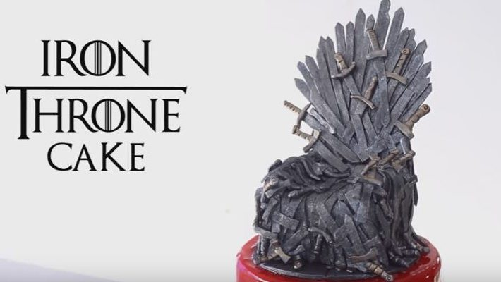 "The ""Iron Throne"" - Incredible Game Of Thrones Cake !"
